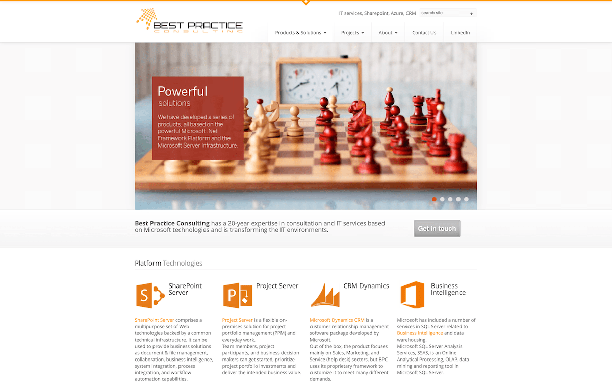 BPC | Website