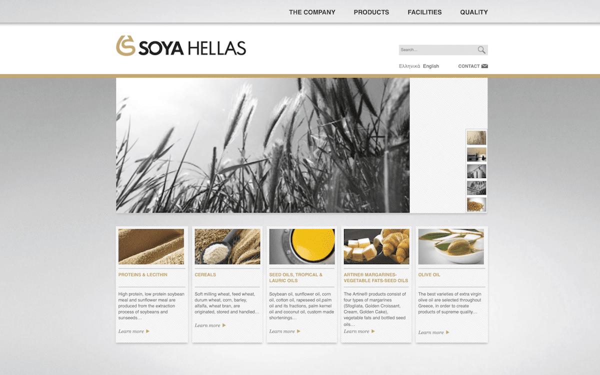 Soya Hellas | Website