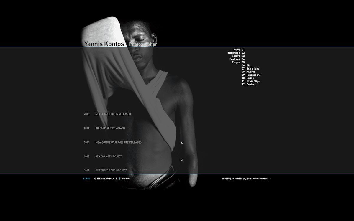 Yannis Kontos | Website