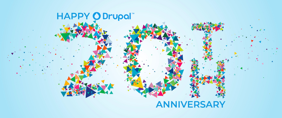 Drupal 20th birthday and the nostalgia from my engineering days